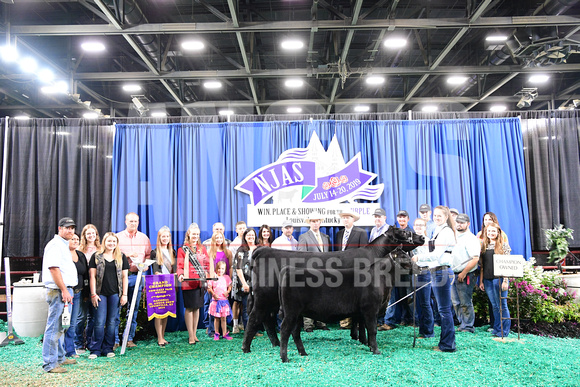 2019 NJAS_Owned Cow-Calf Pair_1st Class 2, Champ Two Yr Old Pairs Division & Champion Overall_exhibited by Ella Brooks_APG_4973